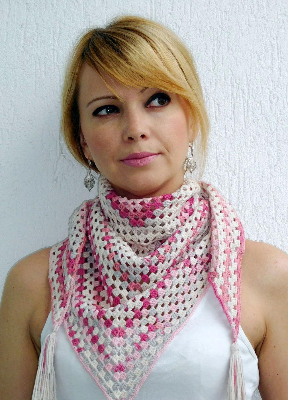 шарф бактус 33 фото как называется треугольный шарф как носить