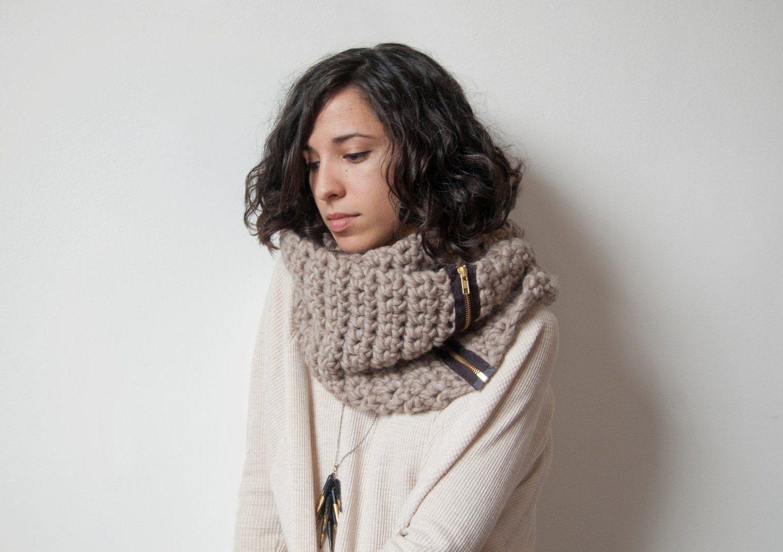 красивая вязхка шарфов