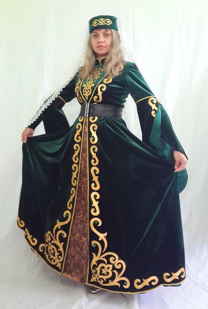ccefddf5aee415f Чеченский национальный костюм (49 фото): традиционный женский и ...