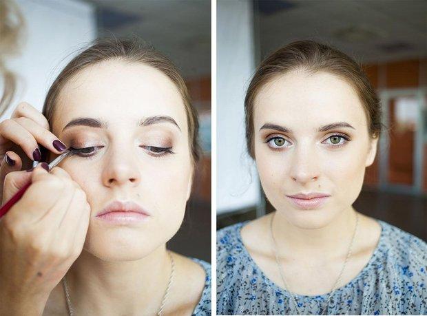 Фото макияж для осеннего цветотипа