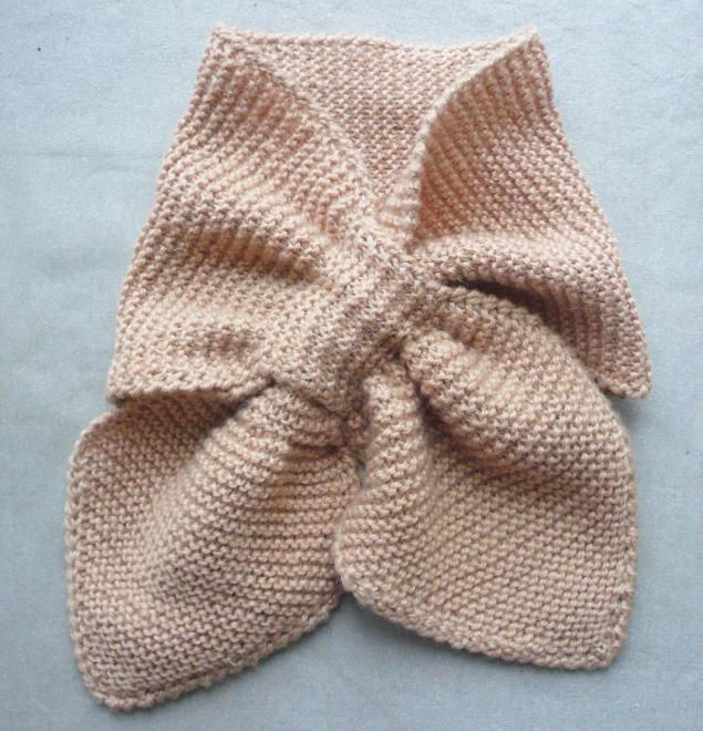фото вязаные детские шарфы