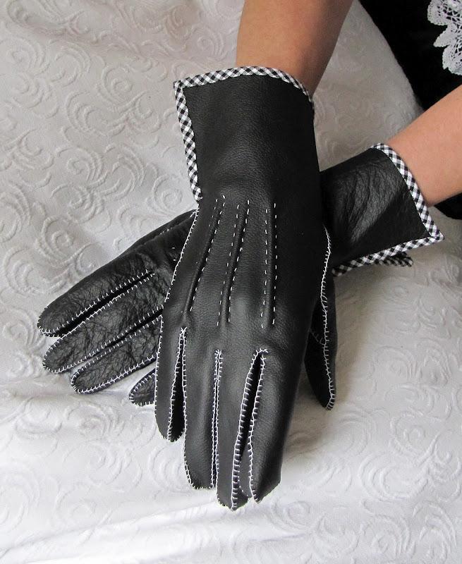 Перчатки из кожи сшить