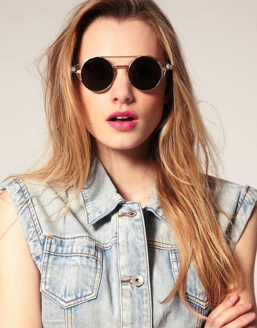 Круглые солнцезащитные очки (59 фото): женские солнечные модели с оправой и стеклами круглой формы, кому они идут