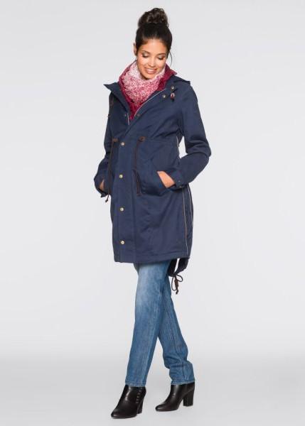 11c658a818ac494 ... к куртке-парке. Она станет идеальным вариантом для защиты от холода и  обеспечит комфорт. А также ее вполне «хватит» на весь срок беременности, ...