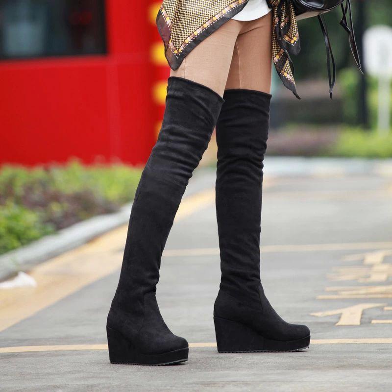 Смотреть онлайн девушках сапоги на длинные