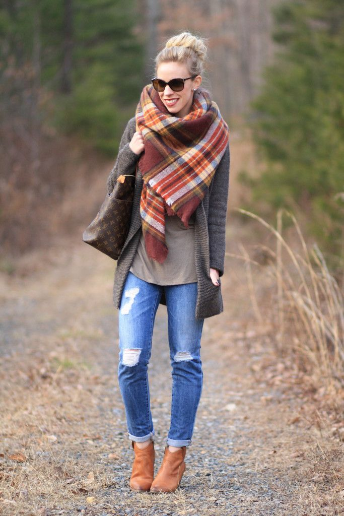 Шарф-плед (53 фото): как и с чем правильно носить большой шарф-плед Zara 438