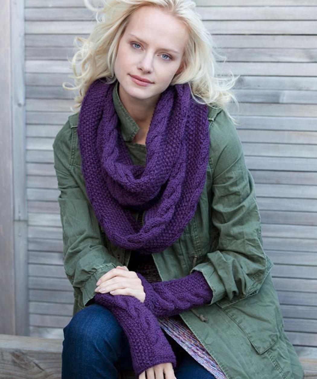 Снуд спицами для женщин: схемы вязания, новинки, узоры, размеры 86