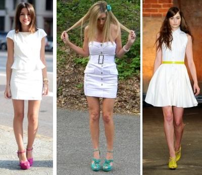 C чем носить белое платье - 42 трендовых фото-образа   348x400