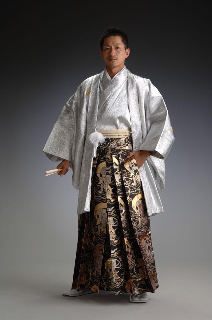Японский национальный костюм Японцы В Кимоно