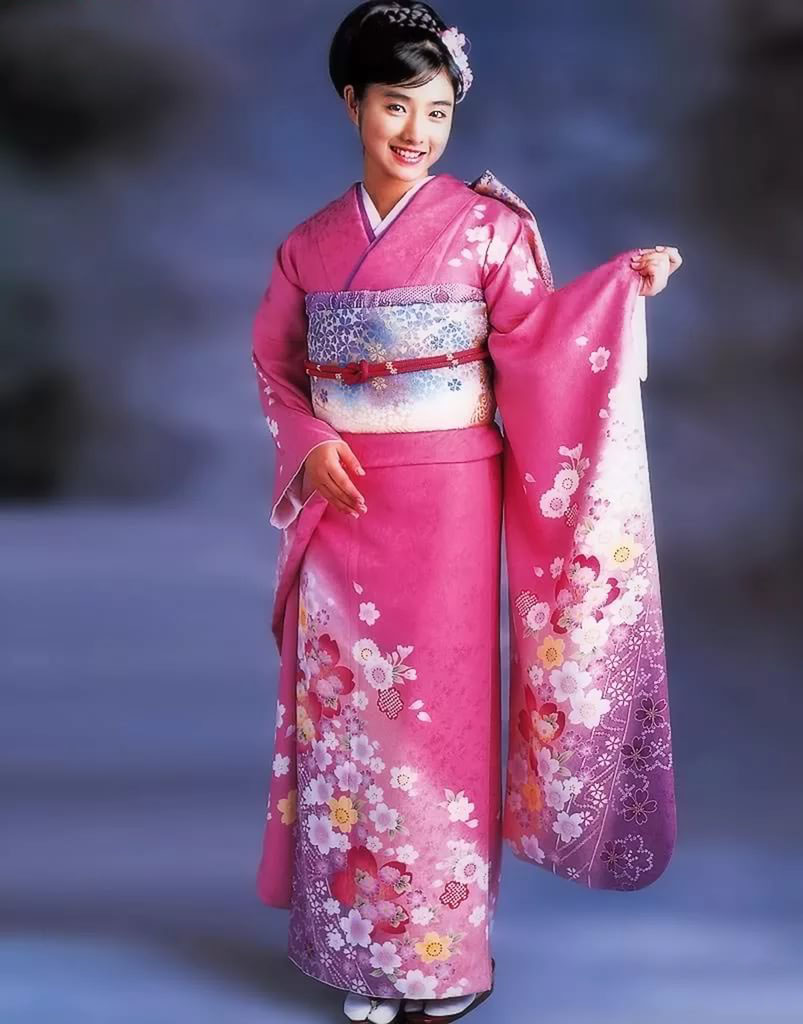 фото национального костюма японии люди