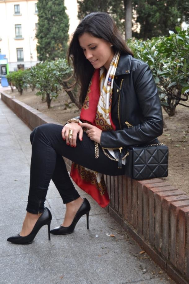 С чем одеть чёрные туфли