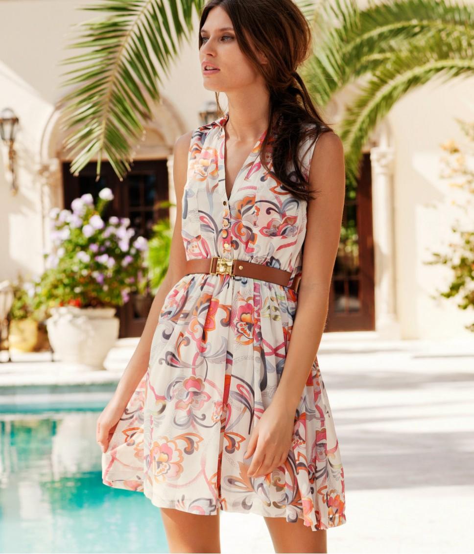 Фото фасонов летних платьев и сарафанов