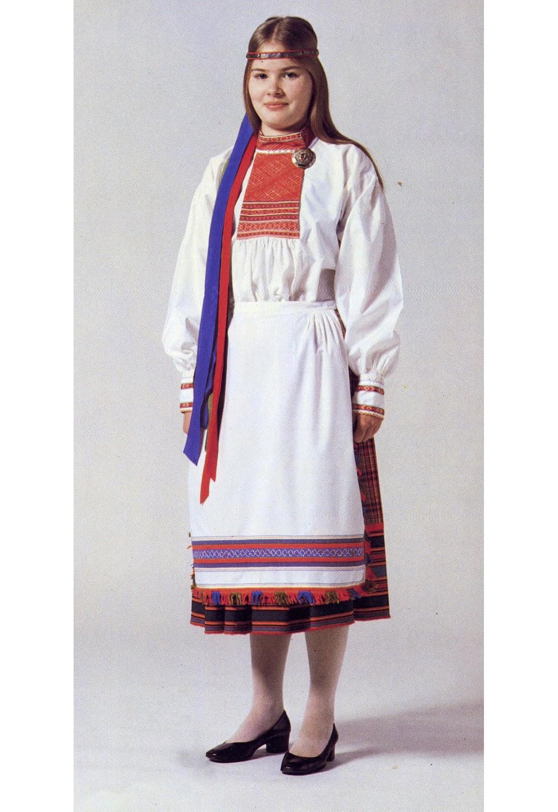 карелы национальный костюм фото мужской и женский