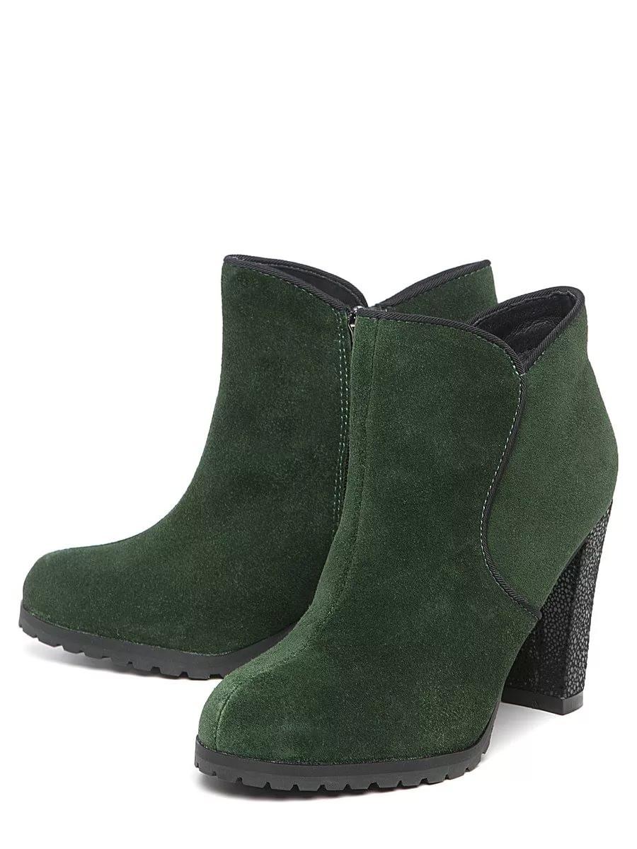 34d5ed2dfaed Зеленые ботильоны (43 фото): с чем носить замшевые и кожаные темно ...