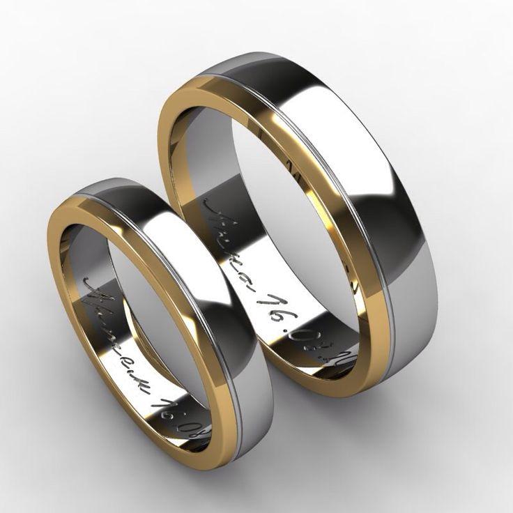 Двойные обручальные кольца (41 фото)  женское свадебное кольцо на ... 90725ac272810