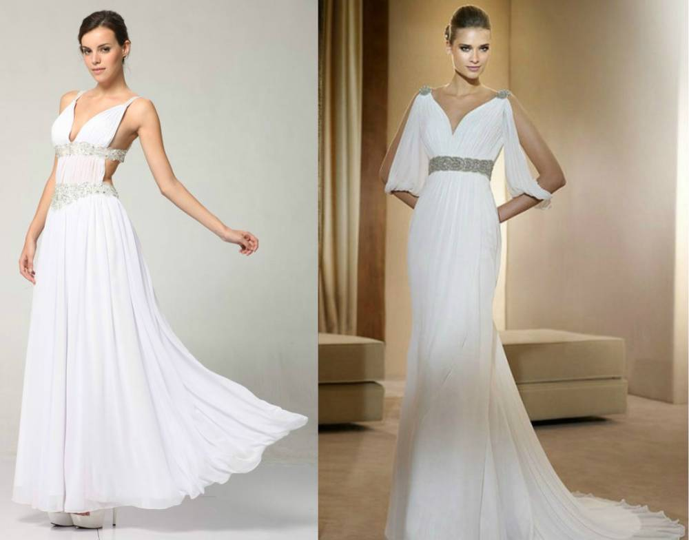 Купить Свадебное Платье Греческое