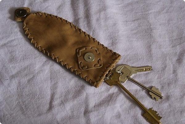 Ключницы из кожи своими руками
