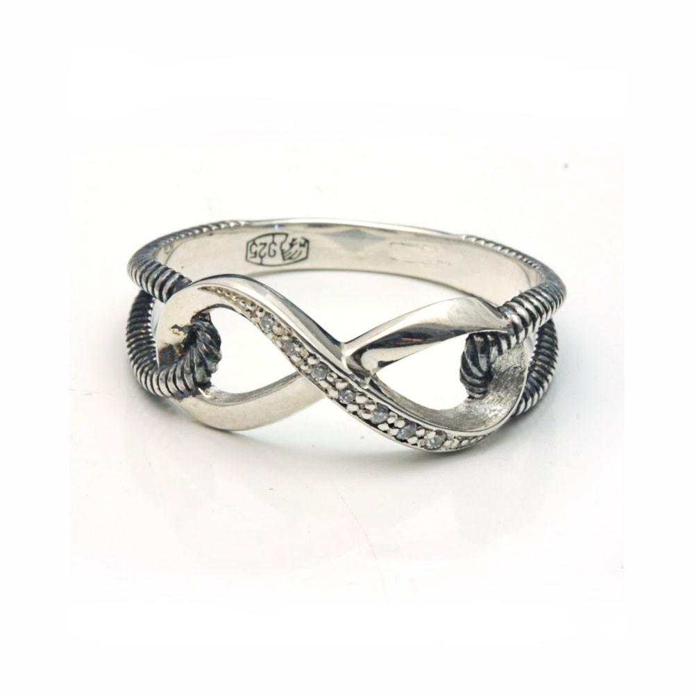 кольцо со знаком бесконечности купить в брянске
