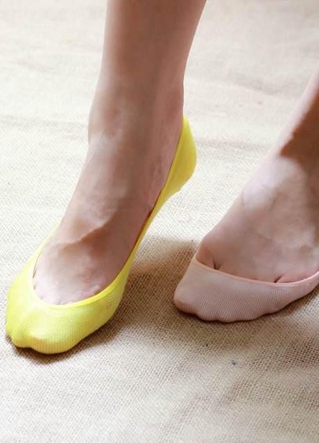 Носки: когда они есть, но их как бы нет - Создай свой стиль