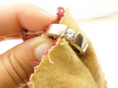 Как почистить камни на кольце в домашних условиях