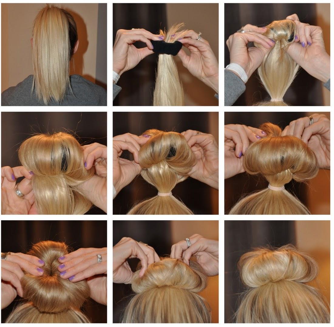 Как сделать самостоятельно резинку для волос