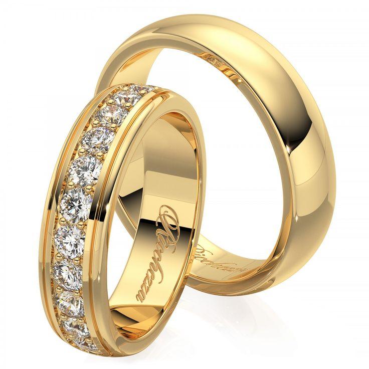 2ff8d15638d5 Широкие обручальные кольца (57 фото)  гладкие парные модели, оригинальные  женские свадебные кольца
