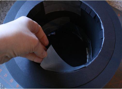 Как сделать шляпу-цилиндр фото