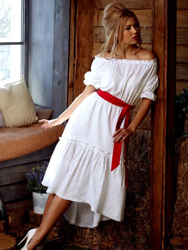 Стиль кантри платье
