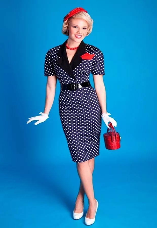 Фото платьев стиль стиляга