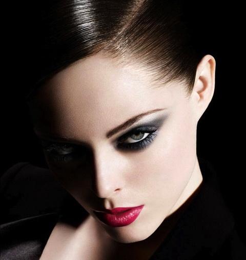 Стиль вамп макияж