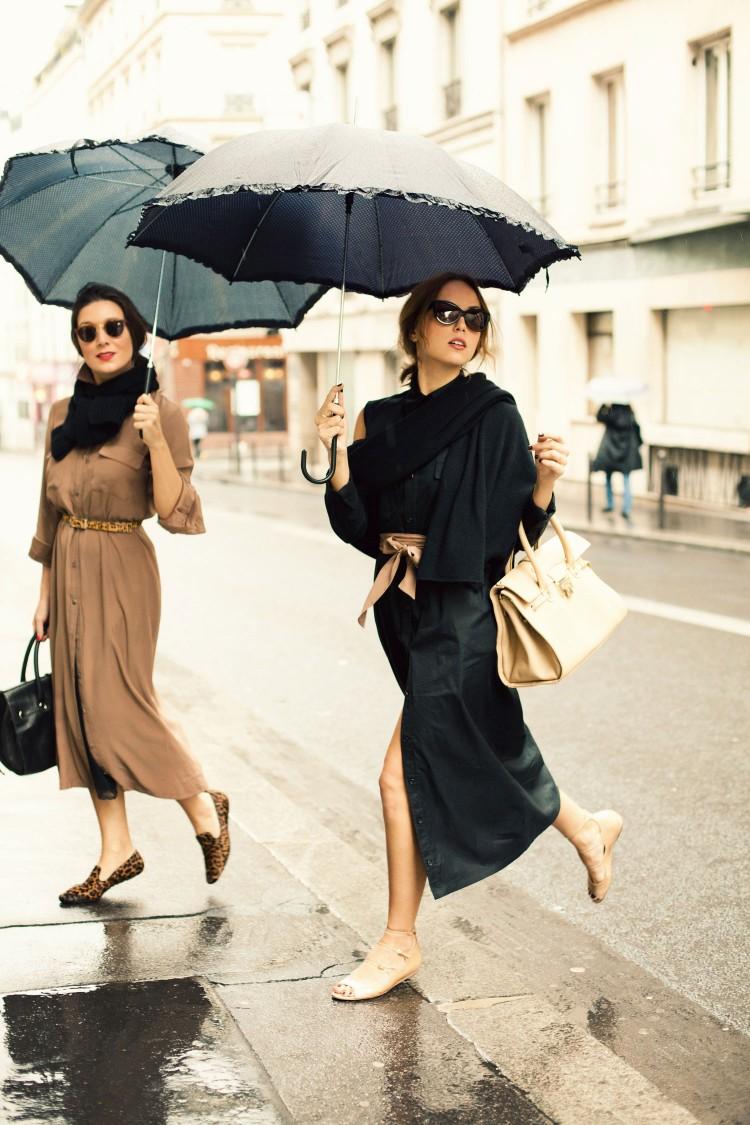 какие зонтики носят парижанки