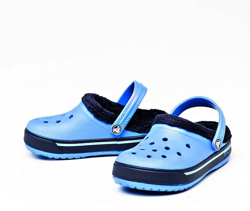 Сапоги crocs зимние детские