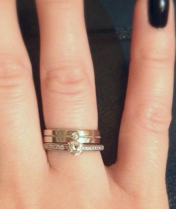 Как вы носите кольца