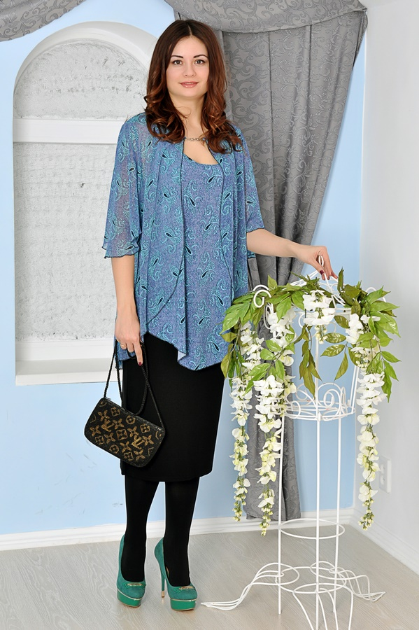 Купить Одежду Стильную Большого Размера