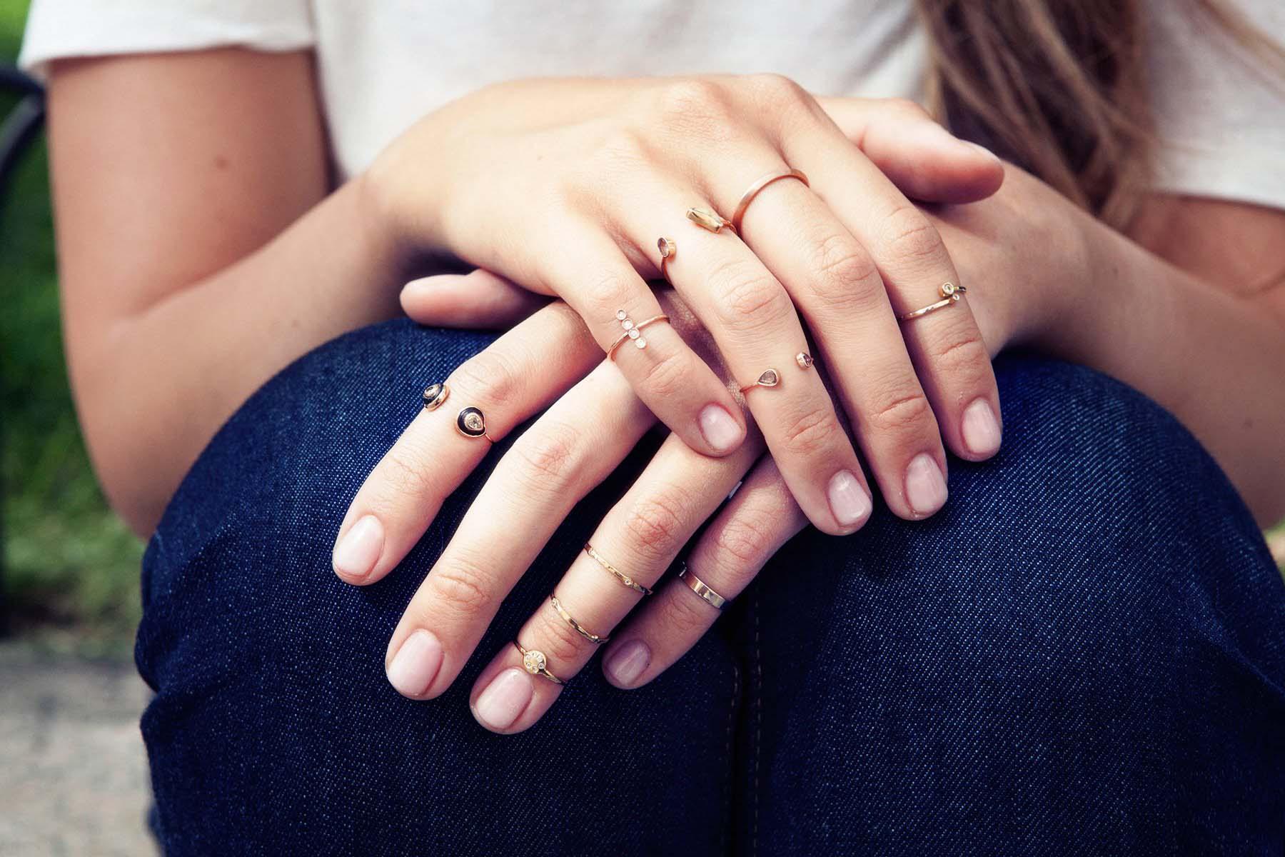 Детское кольцо на палец своими руками