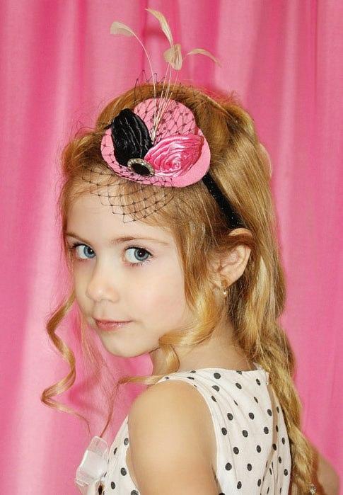 Маленькая шляпка для девочки