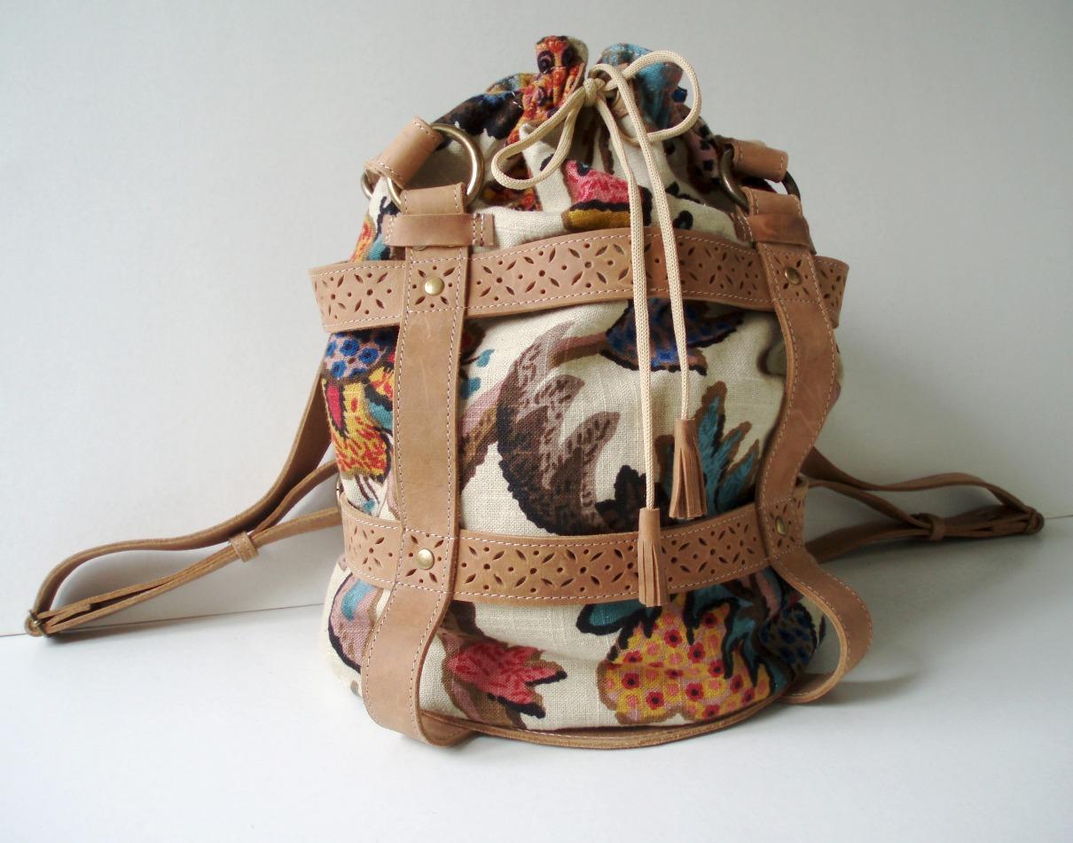 Детский рюкзачок своими руками из кожи