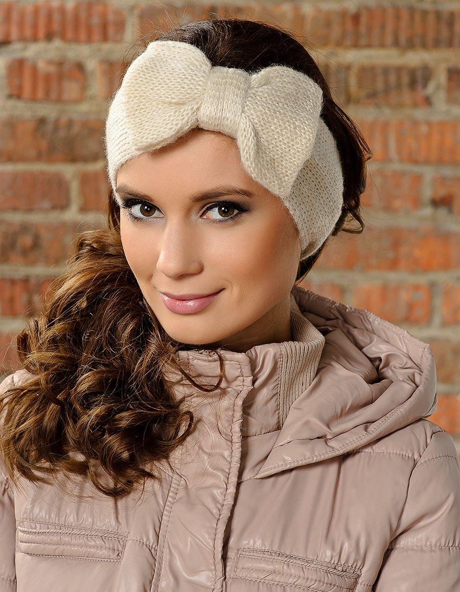 Красивые повязки на голову для новорожденных - Своими руками 76