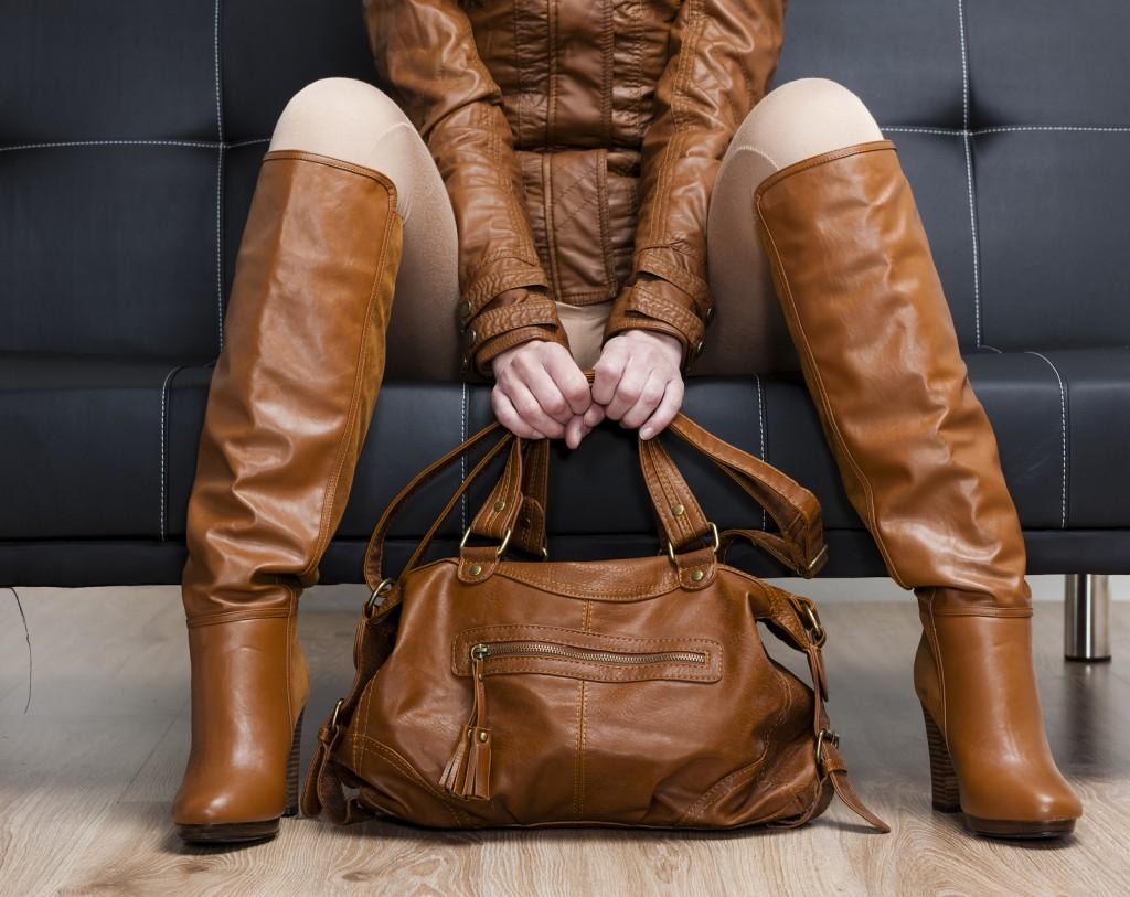 коричневая сумка с чем носить фото
