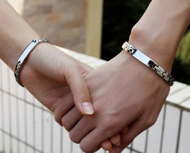 Браслеты для двоих влюблённых своими руками 90