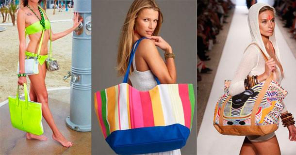 Модные пляжные сумки своими руками