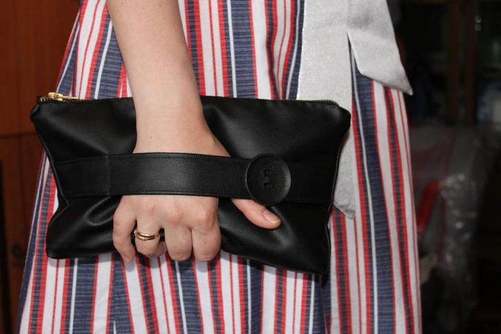 b8ad30201e97 Сумка-клатч своими руками (66 фото): выкройка, как сшить из старой ...
