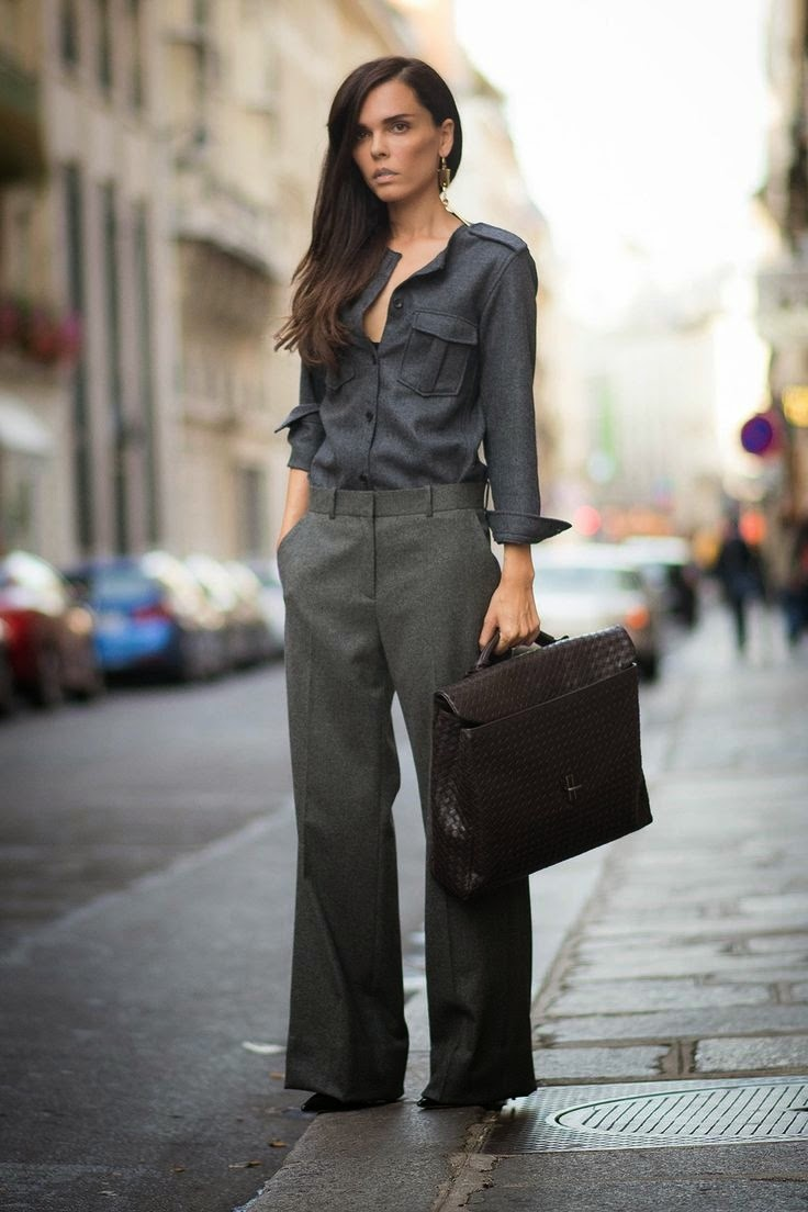 Fashionable office attire for women
