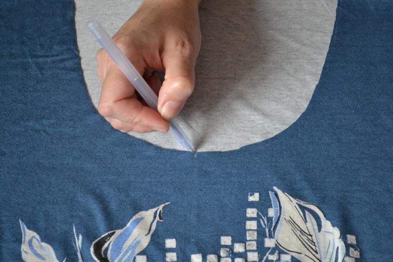 Горловина для футболки сшить 498