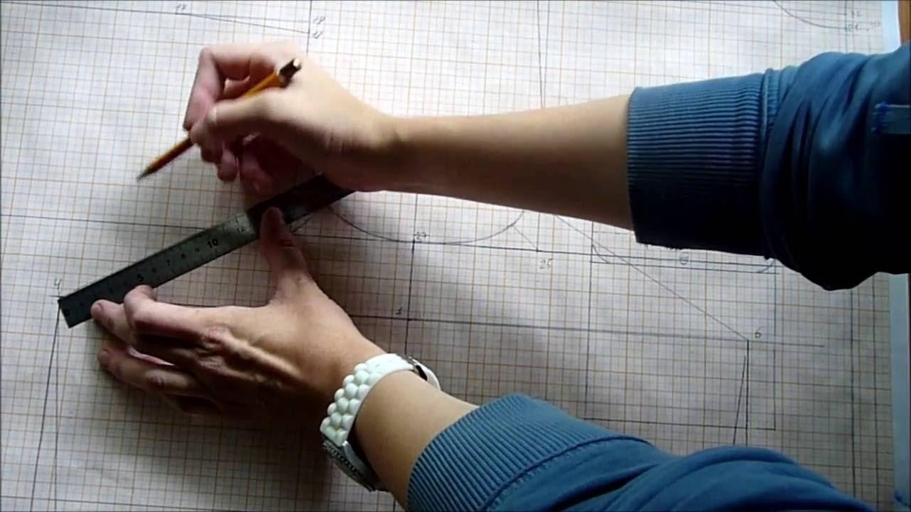 Как правильно сделать вытачку на платье