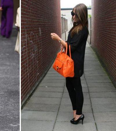 с чем носить оранжевую сумку летом говорящий