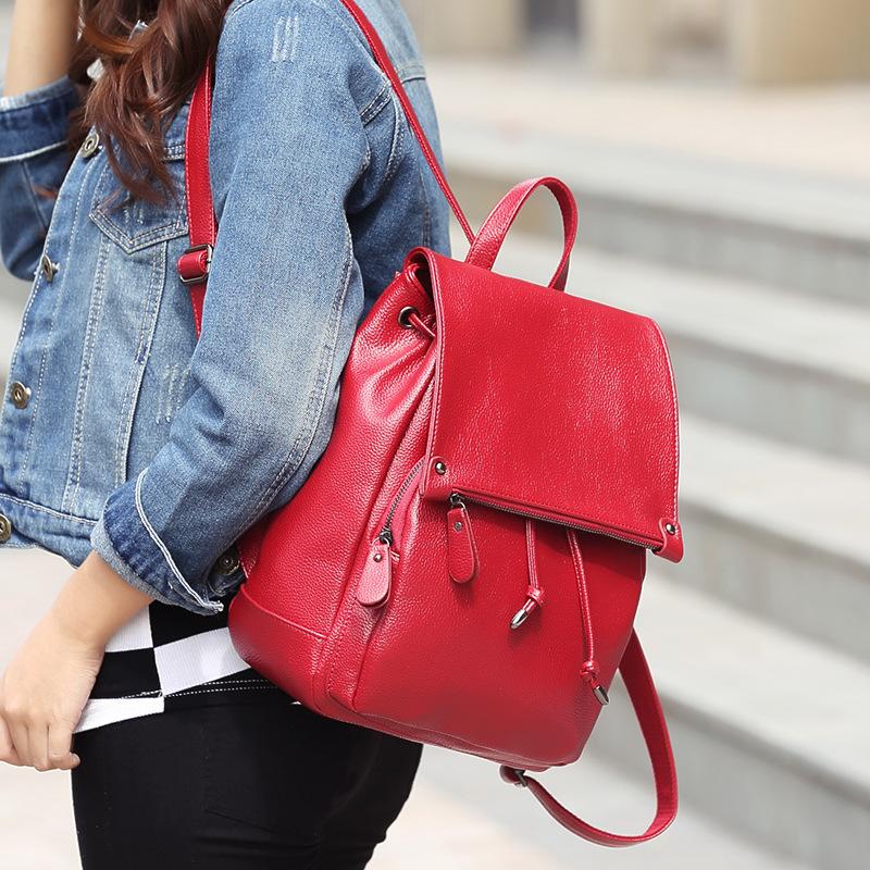 1d0acbb2fea5 Женские кожаные сумки-рюкзаки (44 фото): модели из натуральной кожи ...