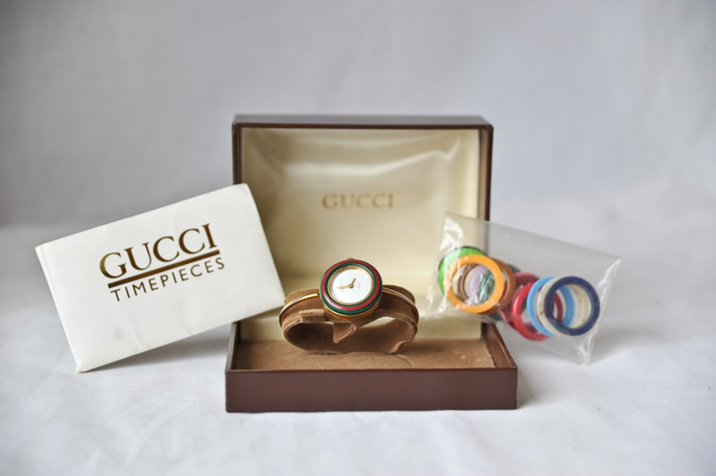 Vintage gucci watches for women