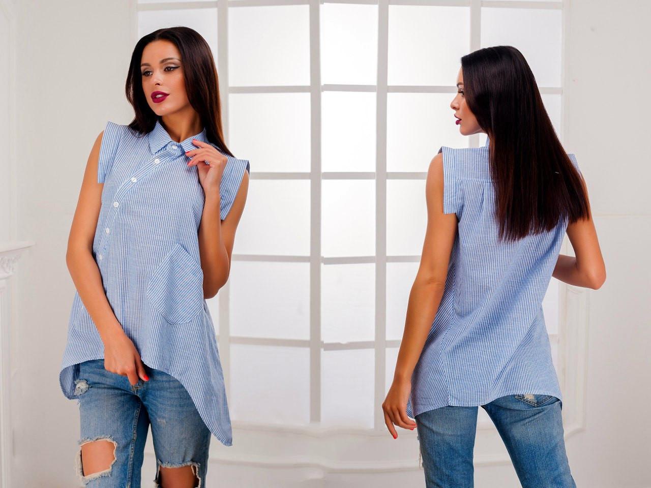Блузка с коротким рукавом без выкройки фото 59