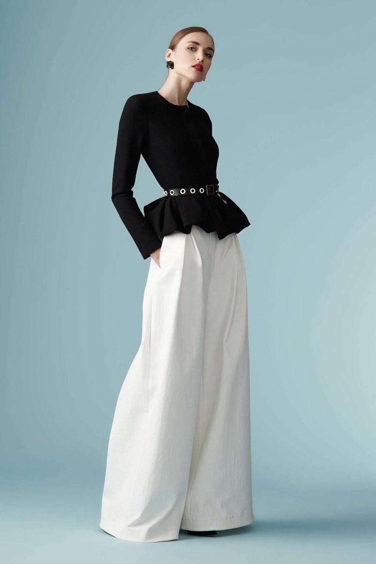 Выкройка юбки-брюки полусолнце